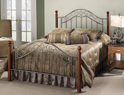 Cherry Wood Bedroom Sets Queen Amazon Com Hillsdale Furniture 1392bqr Martino Bed Set With Rails