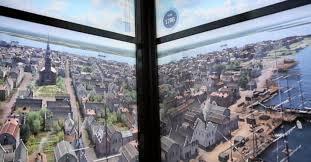 imagenes fuertes del world trade center impresionante animación en ascensores del nuevo world trade center