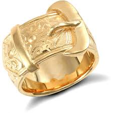 rings gold images 9ct yellow gold buckle ring ramsdens jpg