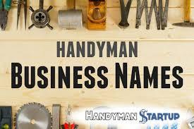 handyman business names u2013 the ultimate guide