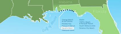 Panama City Beach Florida Map by Resortquest Real Estate Nw Fl U0026 Al Gulf Coast Condos And Homes