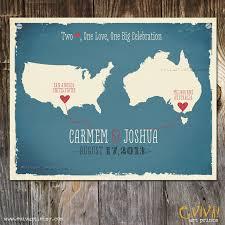 wedding gift australia usa australia custom wedding print destination wedding gift