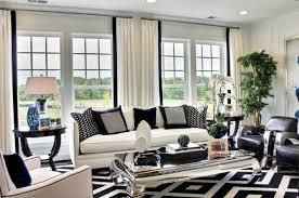 Elegant Rugs For Living Room For An Elegant Living Room We Choose A Black And White Rug