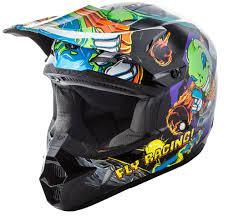 youth motorcycle jacket helmets fly racing motocross mtb bmx snowmobile racewear