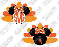 10 best disney thanksgiving cutting files printable images