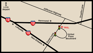 Map Of Lafayette Louisiana by Locations And Directions Trsl Teachers U0027 Retirement System Of