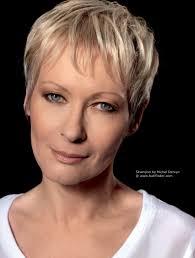 vital and flattering short haircut for older women