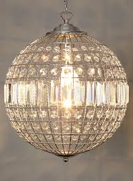 ursula small crystal ball pendant lighting event home