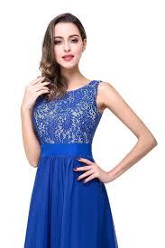 lace chiffon cheap evening dress 2017 bridesmaid dresses 99