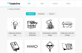 mysimpleshow create your own explainer video in minutes
