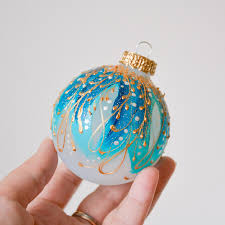 ornament bauble turquoise tree