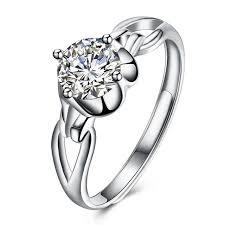 online rings silver images Online shop genuine standard 925 sterling silver accessories size jpg