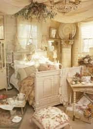 shabby chic bedroom ideas fancy table lamps leather upholstered