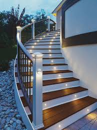 style deck stair lights creating for deck stair lights
