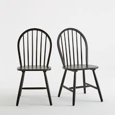 chaise redoute chaise à barreaux lot de 2 la redoute interieurs la redoute