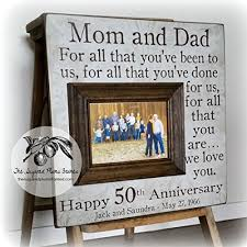 anniversary gift for parents anniversary gifts for parents