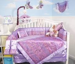 Lavender Butterfly Crib Bedding Soho Lavender Butterfly Silky 10pcs Baby Crib Bedding