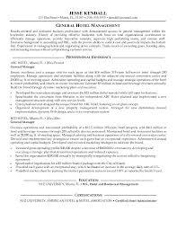 manager resume objective exles general manager resume misanmartindelosandes