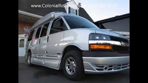 chevy motorhome 2015 roadtrek 170 versatile chevy conversion rv camper van youtube