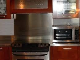 kitchen backsplash stainless steel stainless steel kitchen backsplash stainless steel stove