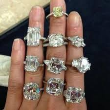 engagement rings stores selection of yellow and white rings at dk gems best