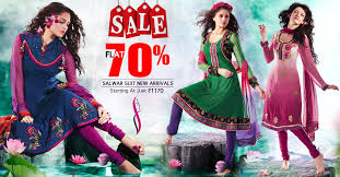 get flat discounting offer on designer women u0027s salwar suit