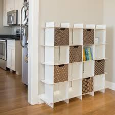 kids book shelves modern patterns decorative cardboard storage boxes kid