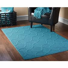 Teal Area Rug Mainstays Brentwood Collection Drizzle Style Area Rug Teal