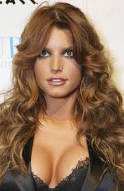 shag haircut for curly hair curly shag haircut pictures of long hairstyles with side bangs and