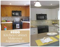 Kitchen Cabinet Update by Honey I U0027m Home From Oak Y To