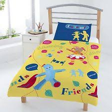 Junior Cot Bed Duvet Set In The Night Garden Stikarounds Rest And Play In The Night Garden