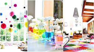 color home decor 23 splendid ways to add rainbow colors in your home decor