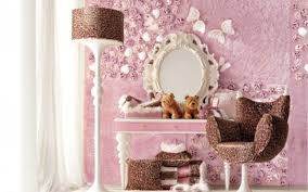dressing table with mirror on collection and makeup teenager girls