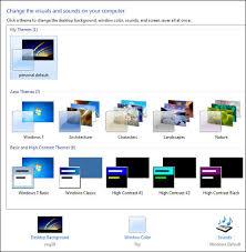 windows 7 desktop themes united kingdom bbc my web my way changing your fonts in windows 7