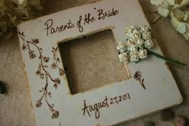 wedding gift parents wedding gift parents of the frame engraved your wedding date