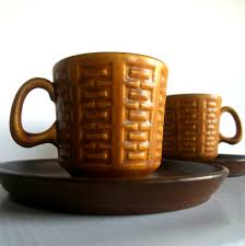 warm mid century modern coffee mugs vintage lovely west ge u2026 flickr
