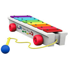 fisher price pull a tune xylophone ornament keepsake ornaments