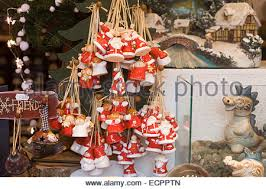 decorations on sale at a stall at the market