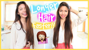 how long for hair to grow out of inverted bob how to grow out your hair longer faster misstiffanyma youtube