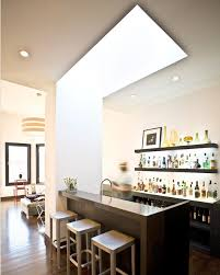 home bar interior modern minimalist condo contemporary home bar san francisco