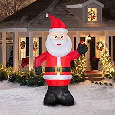 christmas inflatables outdoor 10 airblown santa christmas
