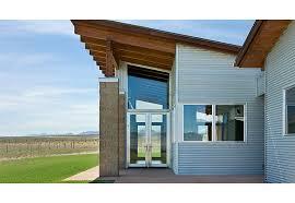 modern corrugated iron houses narrow modern house design modern