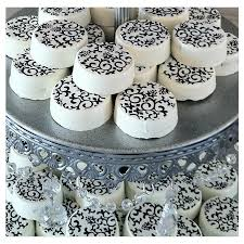 Black And White Candy Buffet Ideas by Black And White Candy Table By The Candy Brigade My Wedding