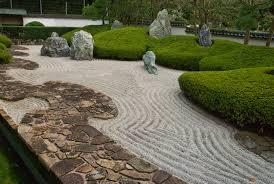 zen rock garden ideas front yard landscaping with rocks diy design