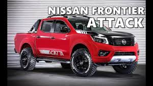 nissan frontier running boards nissan frontier attack concept 2017 youtube