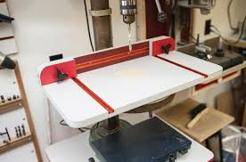 auxiliary drill press table canadian woodworking magzine