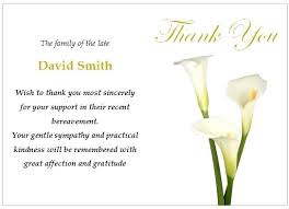 thank you cards for funeral funeral thank you cards lifysummit co