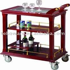 mobile wine rack liquor kitchen cart server casters global sources