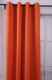 Red Curtains Ikea Mariam Curtains 1 Pair Orange Window Room And Living Rooms