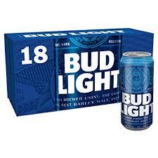 bud light 8 pack bud light lager can 18 x 440 ml amazon co uk prime pantry